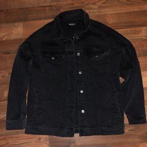 Max Studio boyfriend jean jacket